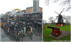 vélos et moulins à Copenhague