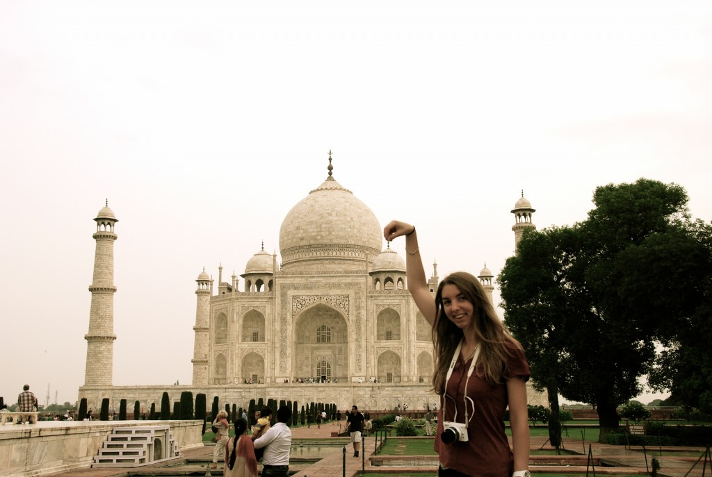 Photo fun au Taj Mahal