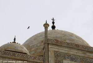 dôme du Taj Mahal