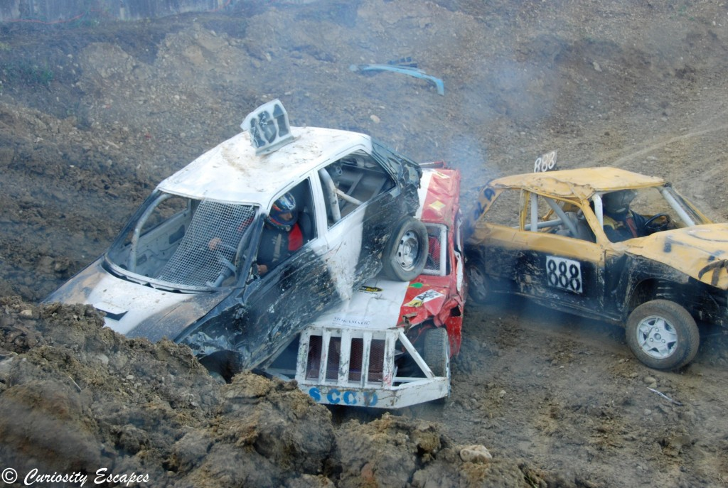 accident stock car