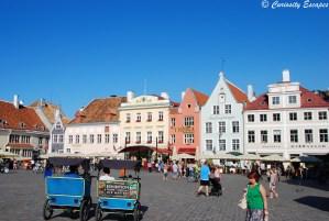 place de l'hôtel de ville de Tallinn