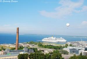 Croisiéristes à Tallinn
