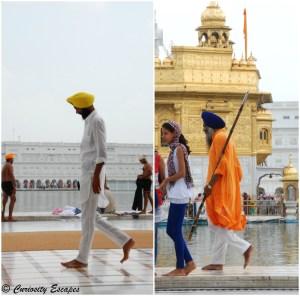 des Sikhs à Amritsar