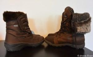 Chaussures pour la Norvège en hiver