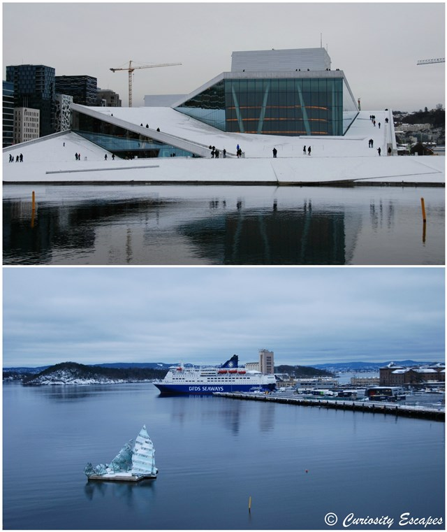 Opéra d'Oslo, architecture contemporaine