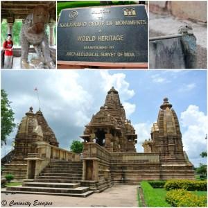 Temples du groupe Ouest de Khajuraho