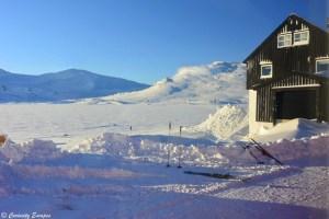Finse, station ferroviaire la plus haute de Norvège
