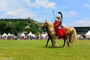 Défilé des légions romaines à St-Romain-en-Gal