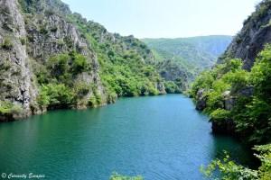 Sublime Canyon de Matka, non loin de Skopje en Macédoine