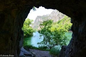 Sublime canyon de Matka en Macédoine