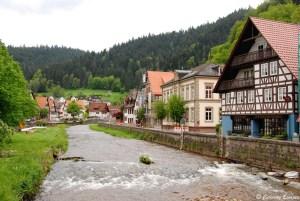Village de Schiltach, en Forêt Noire