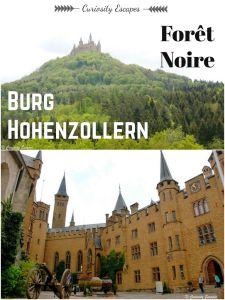 Château Hohenzollern en Forêt Noire