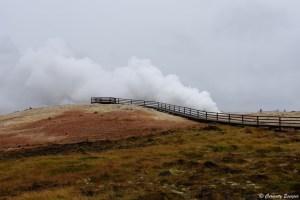 Zone géothermique de Gunnhuver, Islande