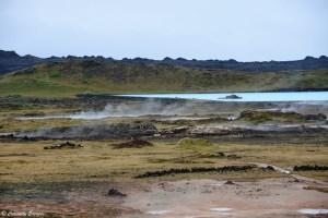 Site géothermique de Gunnhuver, Islande