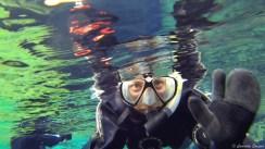 Snorkelling dans la faille de Silfra
