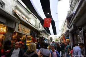 Dans le Grand Bazaar d'Istanbul