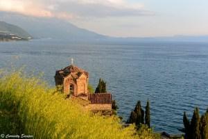 Sv Jovan Kaneo au bord du lac Ohrid