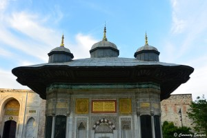 Fontaine du Sultan Ahmed, Istanbul