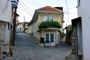 Quartiers résidentiels d'Ohrid, Macédoine
