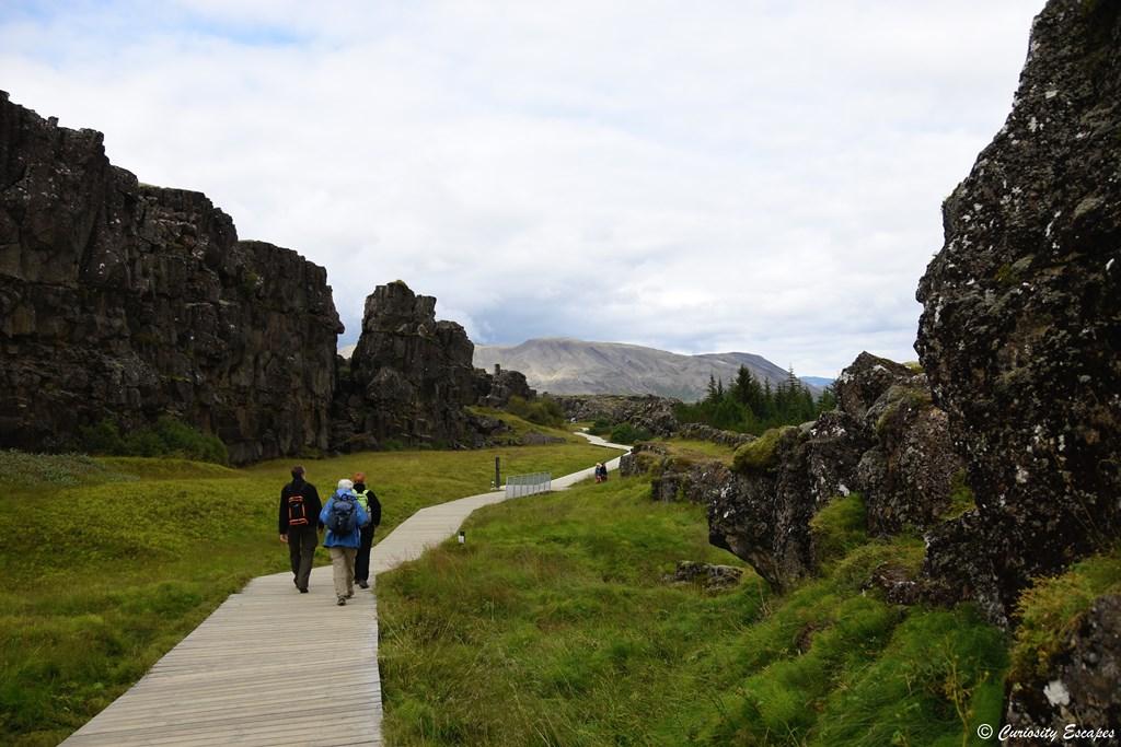 Sentiers du parc de Thingvellir