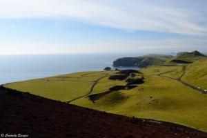 Paysage sur l'île d'Heimaey
