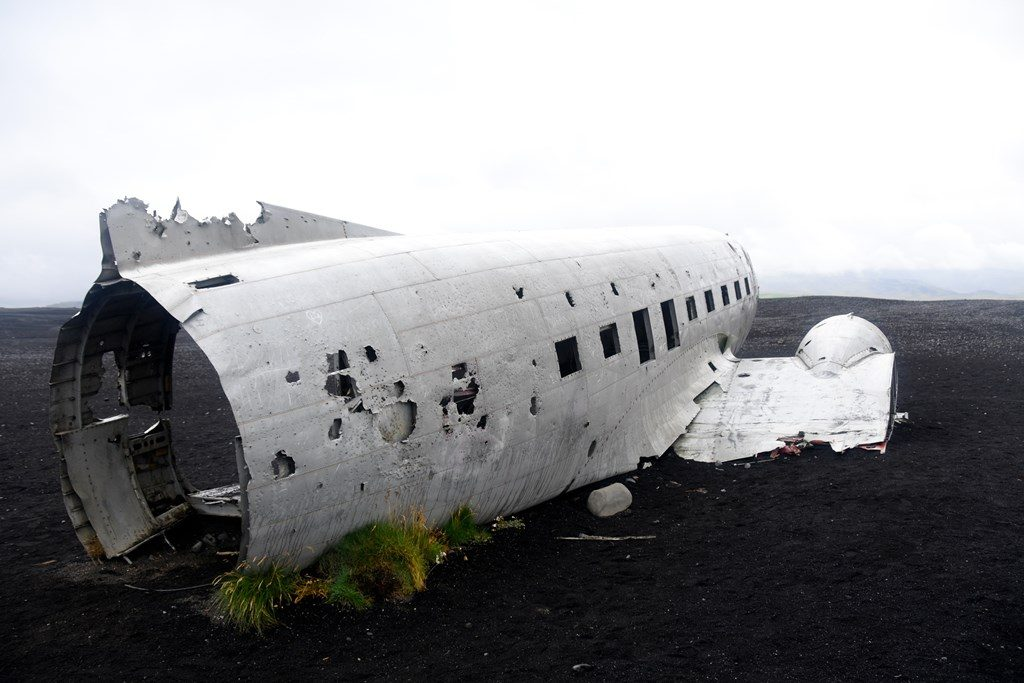 Crash d'avion en Islande