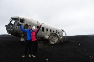 Epave du DC3 en Islande