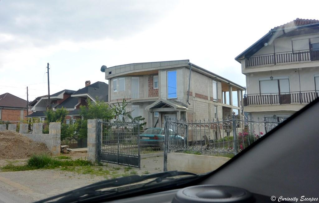Grandes maisons en Macédoine