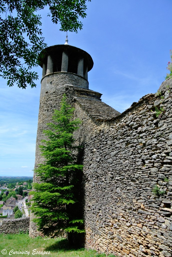 Les vestiges de la colline Saint-Hippolyte