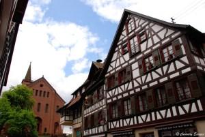 Eglise du village de Schiltach