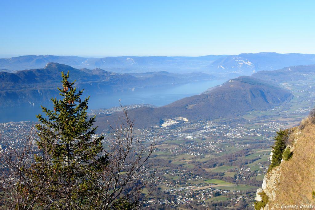 Lac du Bourget du mont Revard