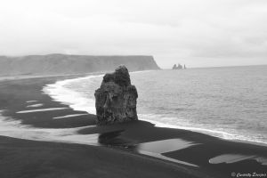 Reynisfjara, plage noire