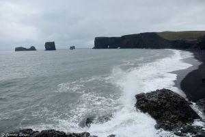 Les rochers de Dyrholaey, Islande