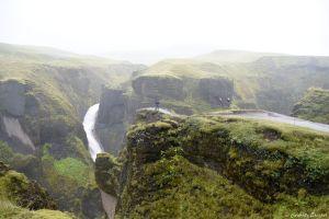 Canyon de Fjaðrárgljúfur, Islande