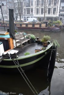 Houseboat museum d'Amsterdam