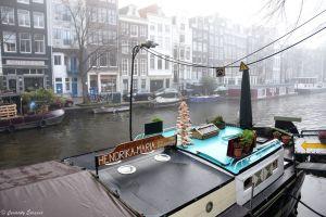 Musée de la maison-péniche à Amsterdam