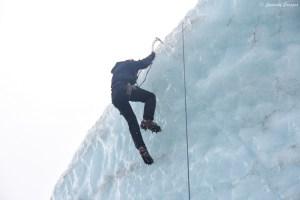 Escalade sur glacier au Svinafellsjokull