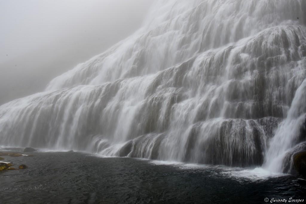 Cascade de Dynjandi, fjords de l'Ouest d'Islande