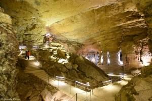 La grande coupolle des grottes de La Balme