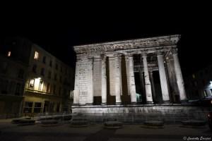 Temple romain d'Auguste et de Livie