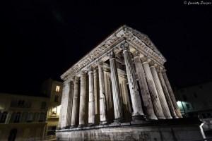 Temple d'Auguste et de Livie à Vienne