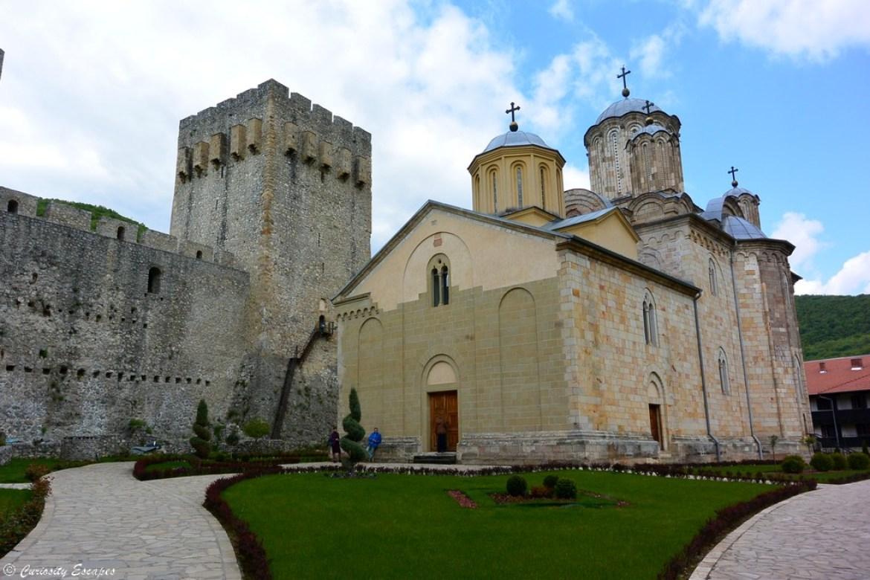Monastère de Manasija, Serbie
