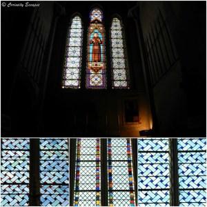 Vitraux de l'abbaye de Saint Antoine, Isère