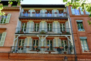 Jolie façade à Toulouse