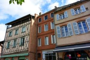 Jolies façades à Toulouse