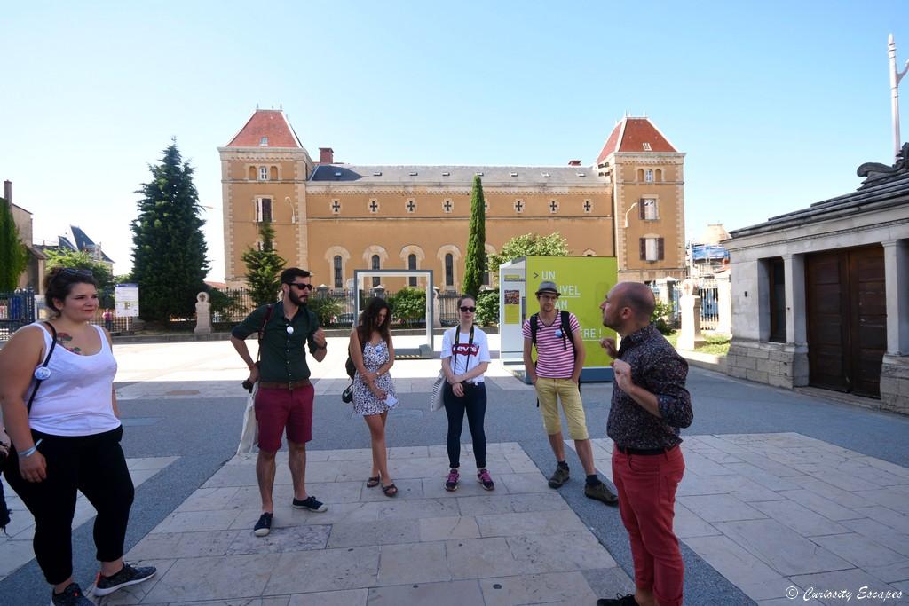 Visite guidée avec Cybèle, Lyon