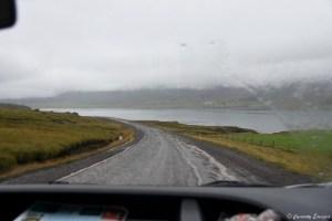 Route islandaise non goudronnée