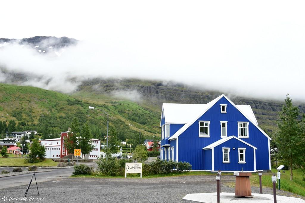Maison de Seydisfjodur