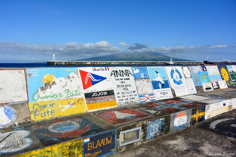 Port d'Horta sur l'île de Faial