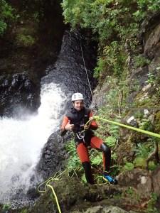 Tyrolienne en canyoning aux Açores